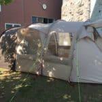 ジャックウルフスキンの3ルーム超大型テントは大家族におすすめ