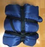 超簡単シュラフのコンプレッションバッグを自作してみた