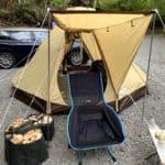 小川キャンパルのピルツ9DXはソロキャンプにおすすめ!【初心者も必見】