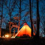 【三景園キャンプ場】眺望と満点の星空を堪能できるキャンプ場!