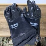 【テムレス】冬キャンプの水洗いを超ラクにする凄い手袋!